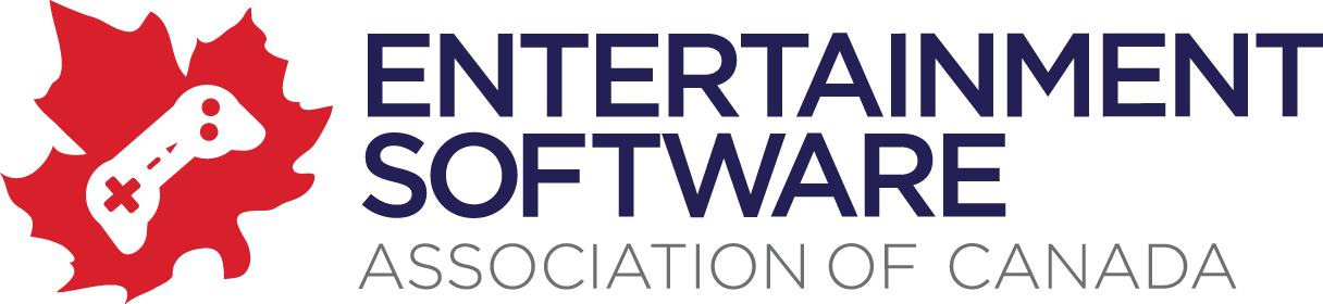 Image result for entertainment software association of canada logo""