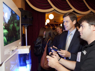 "On October 4, leading members of the Entertainment Software Association of Canada (ESAC) held the annual ""Get in the Game"" reception for parliamentarians and their staff at Metropolitan Brasserie. The event featured the latest video games many of which were developed in Canada."